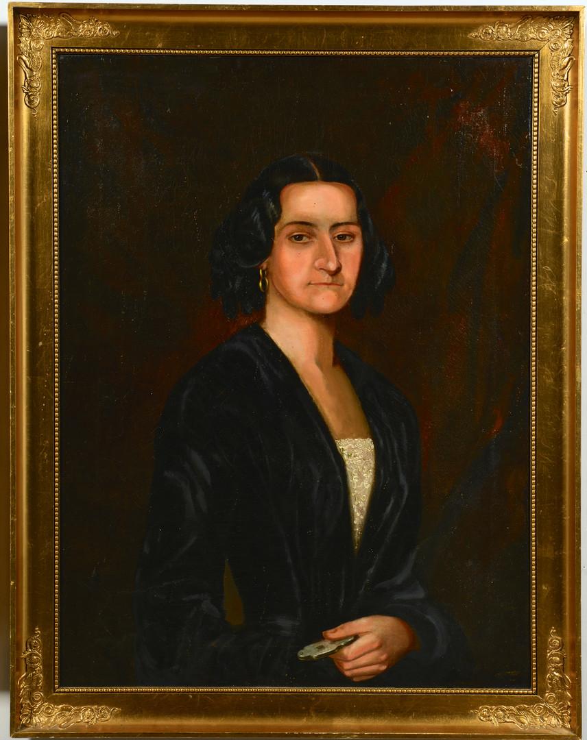 Lot 697: Pr. Swedish Portrait Paintings