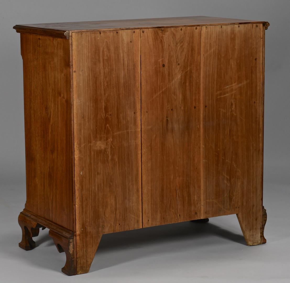 Lot 709: Greene Co., TN walnut chest of drawers, Hutton fam