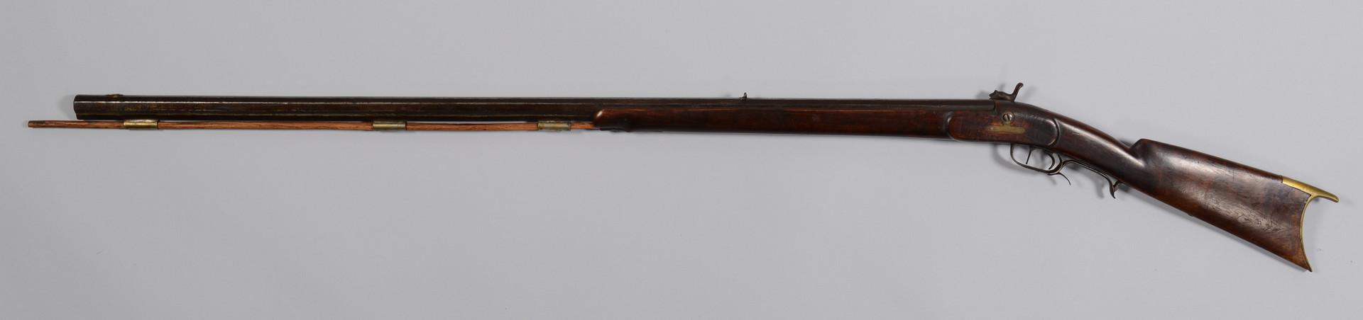 Lot 716: 2 Percussion Half Stock Rifles