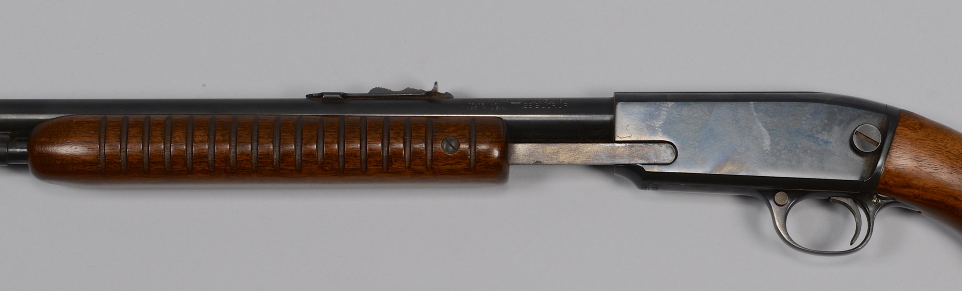Lot 718: Winchester Model 61 Pump Action Rifle