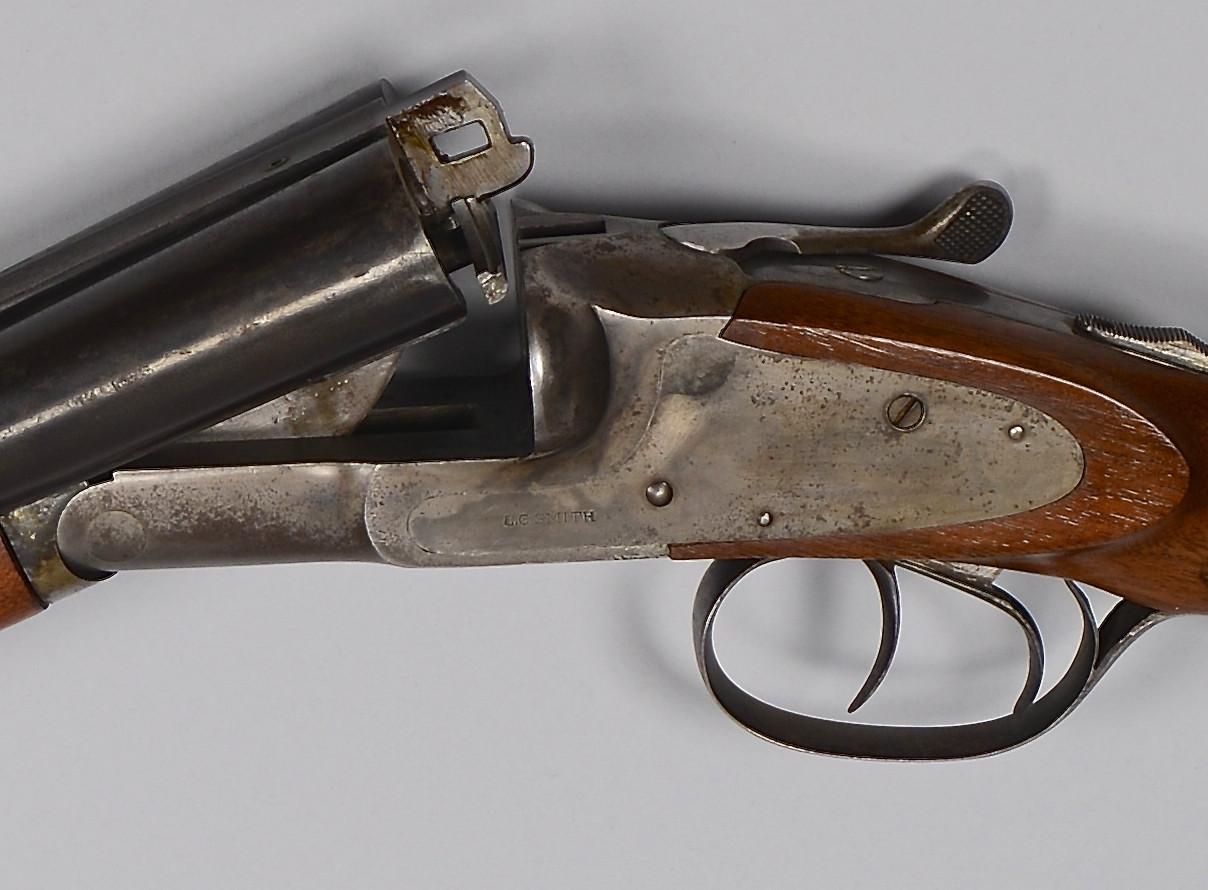 Lot 721: L.C. Smith Shotgun, Long Range