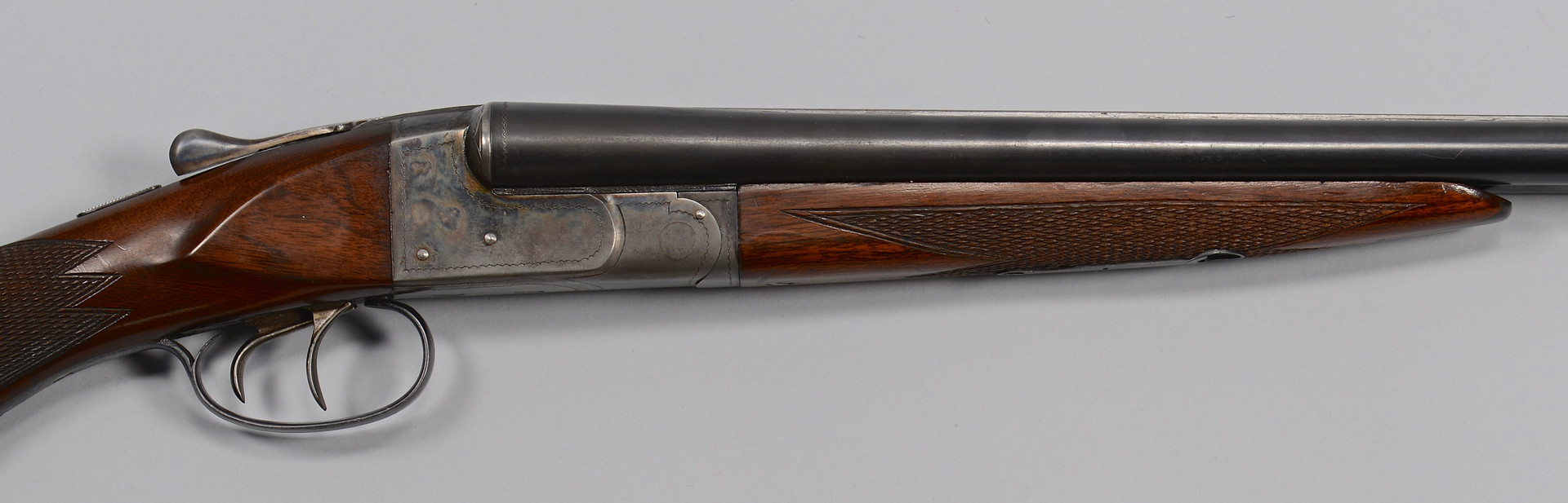 Lot 724: Double Barrel Ithaca 16 Gauge