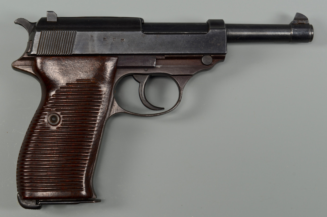 Lot 728: AC44 P38 Walther Pistol & Holster, Battle of Bulge