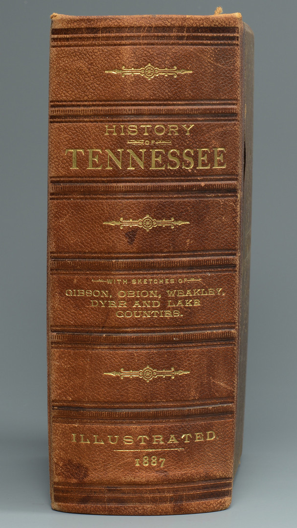 Lot 730: History of Tennessee Illustrated 1887