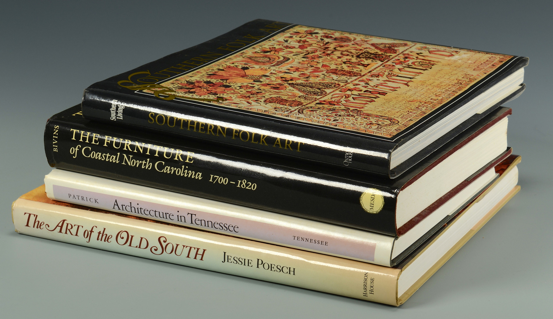 Lot 731: 4 Southern/TN Related Antiques Books