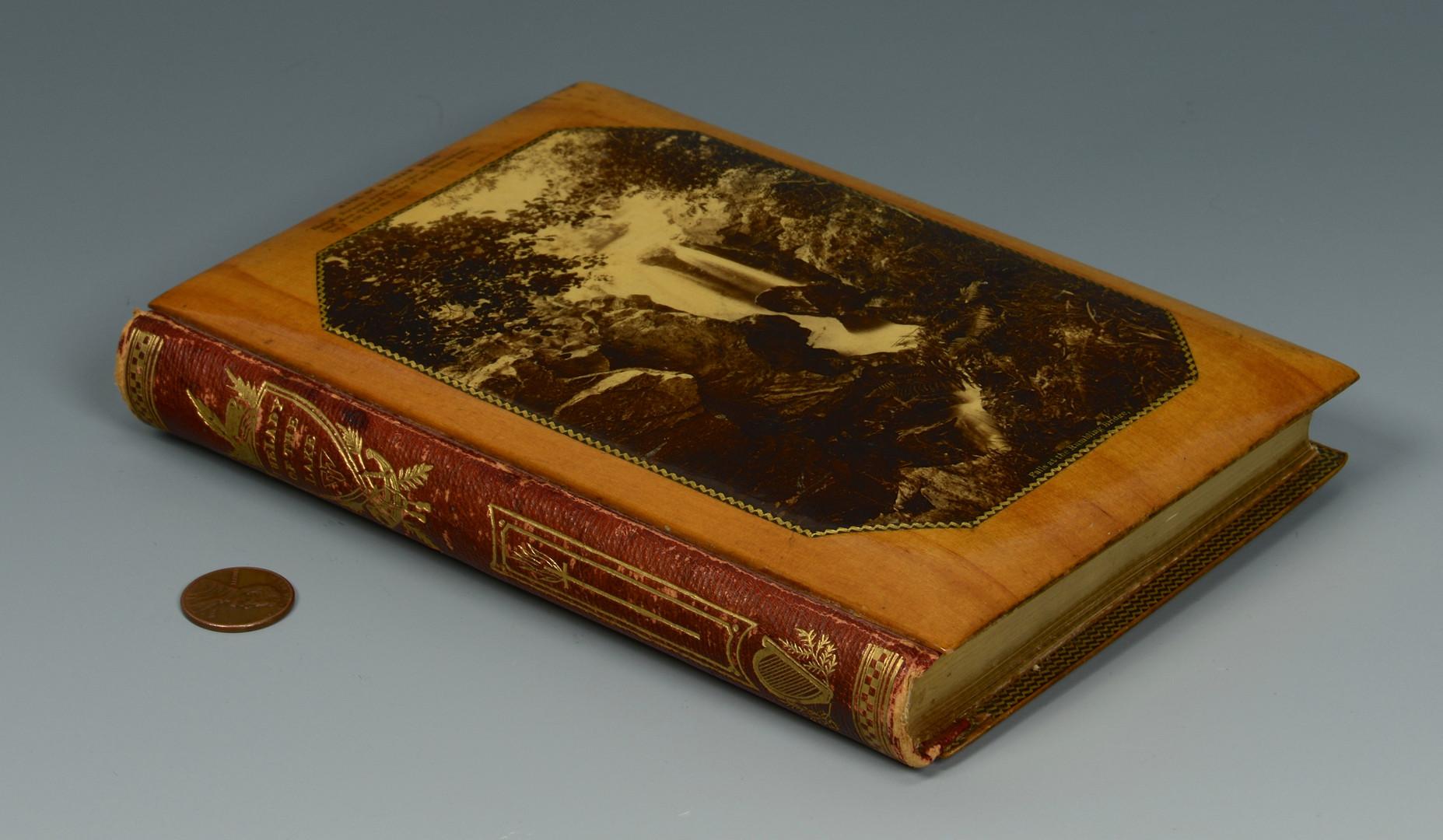 Lot 732: Mauchline-ware Bound Book