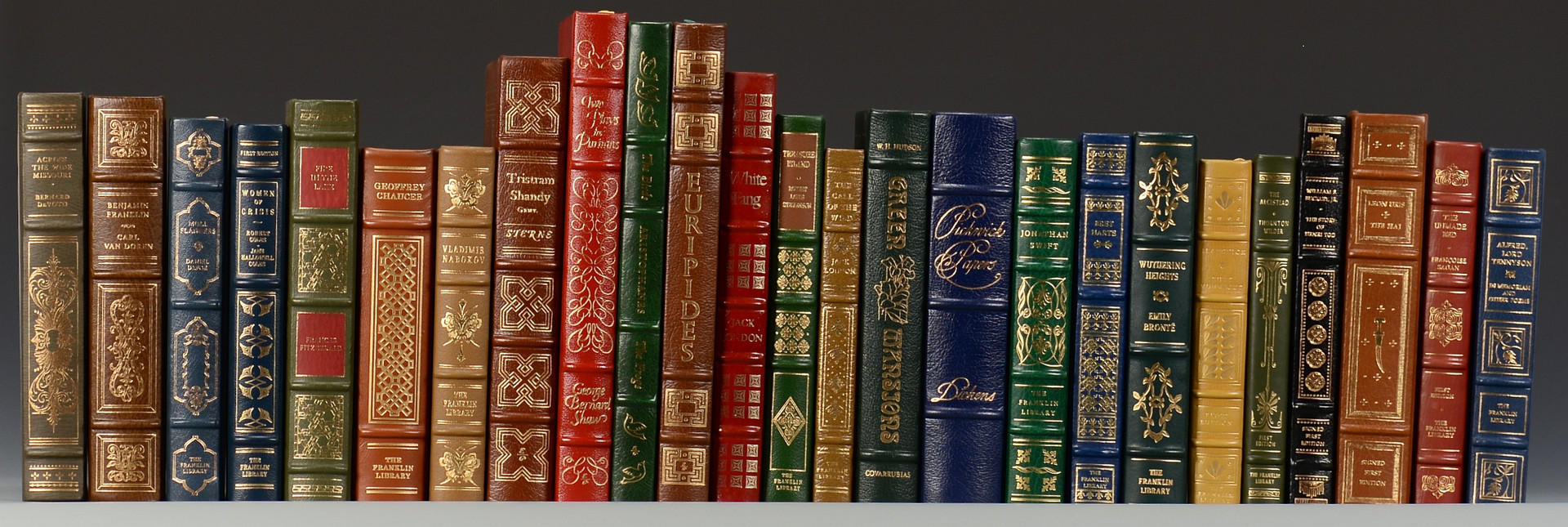 Lot 733: 25 Easton Press and Franklin Library leather bound