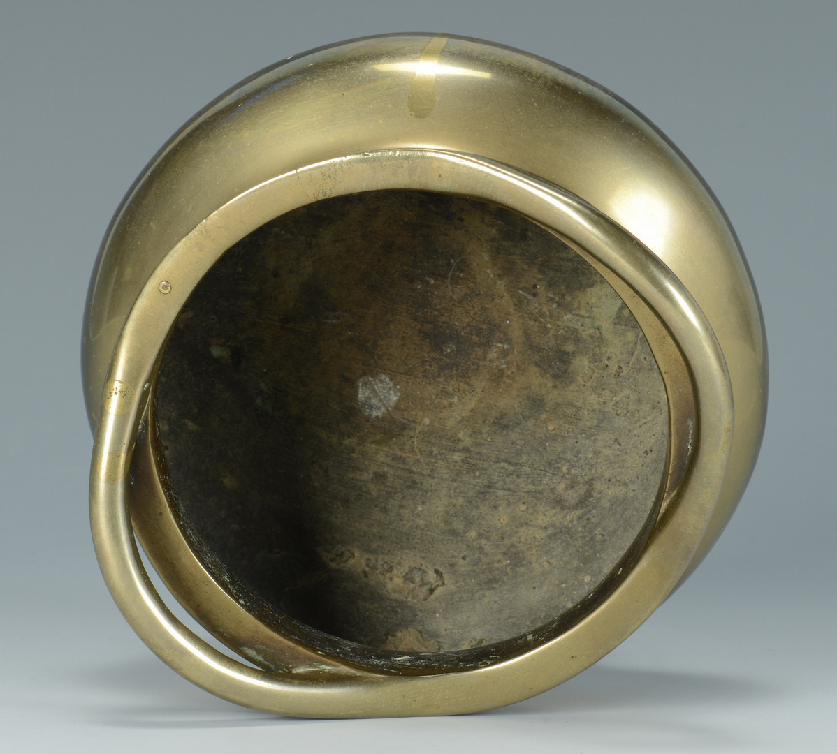 Lot 735: Asian and Mideast Metalware Items