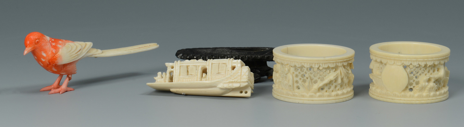 Lot 738: Group of Chinese Jewelry, Bone & Other