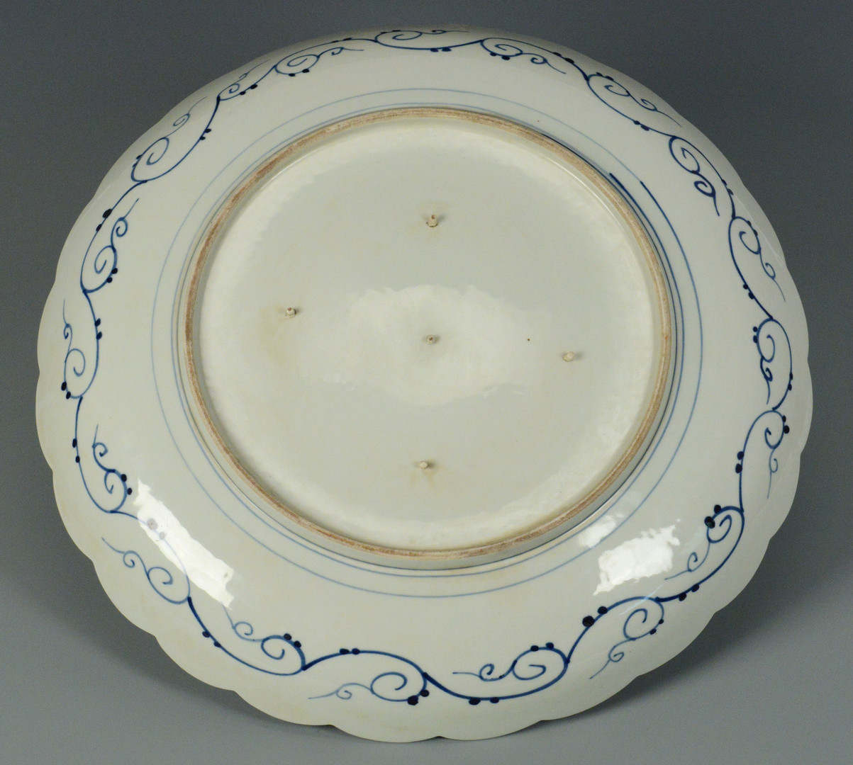 Lot 747: Japanese Imari Porcelain Charger
