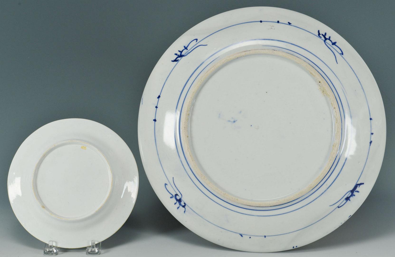 Lot 748: 2 Arita Chargers & Imari Style Plate