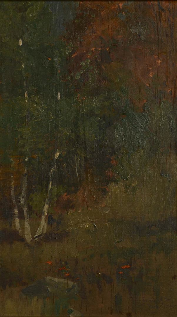 Lot 752: Three landscapes, inc Akhriev