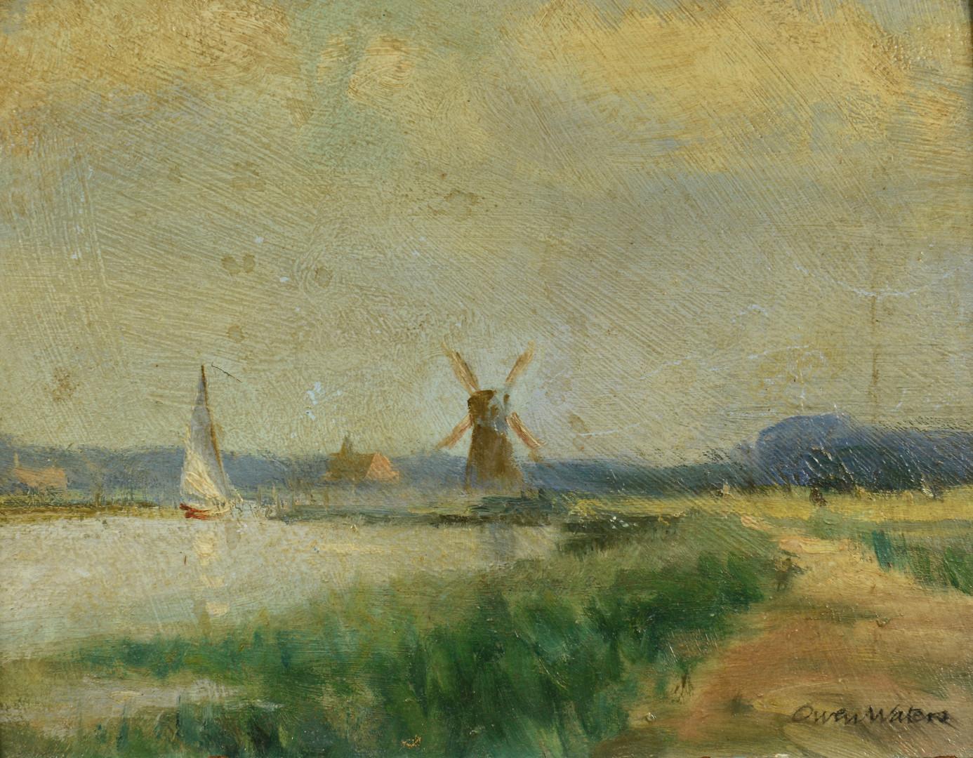 Lot 754: Owen Waters Landscape