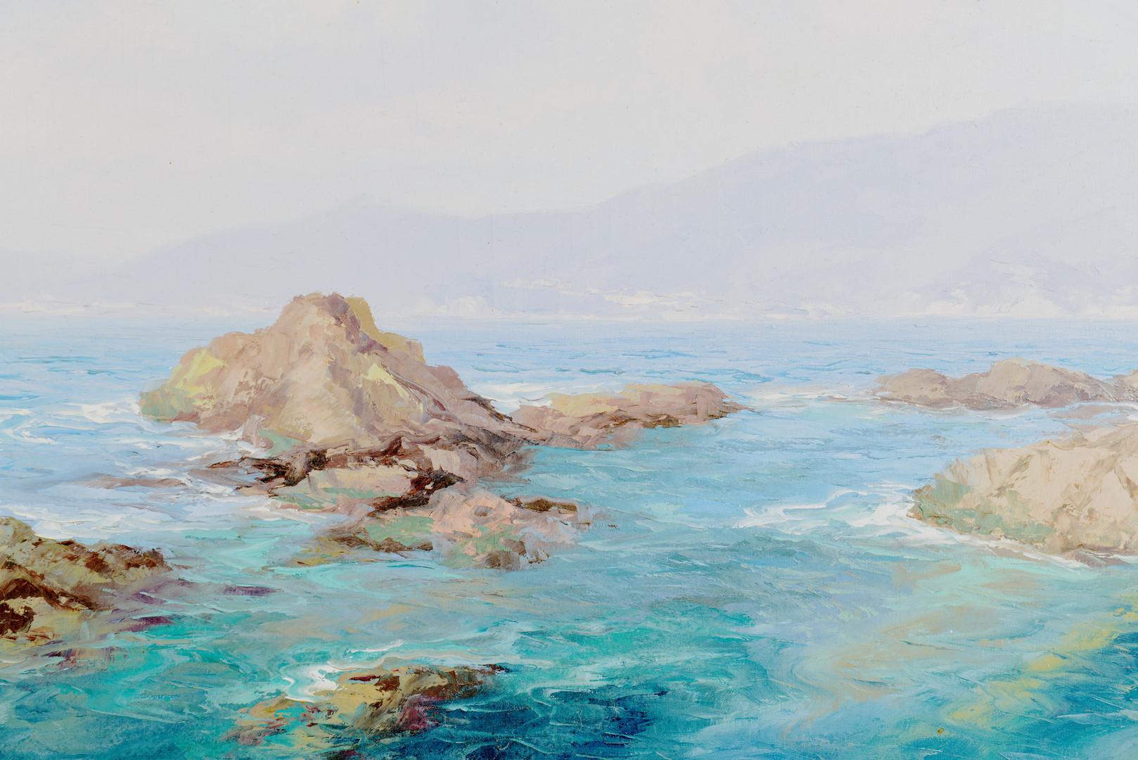Lot 755: Arigliano Italian O/C Seascape