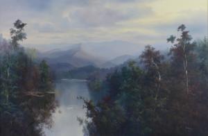 Lot 756: Ron Williams O/C Landscape