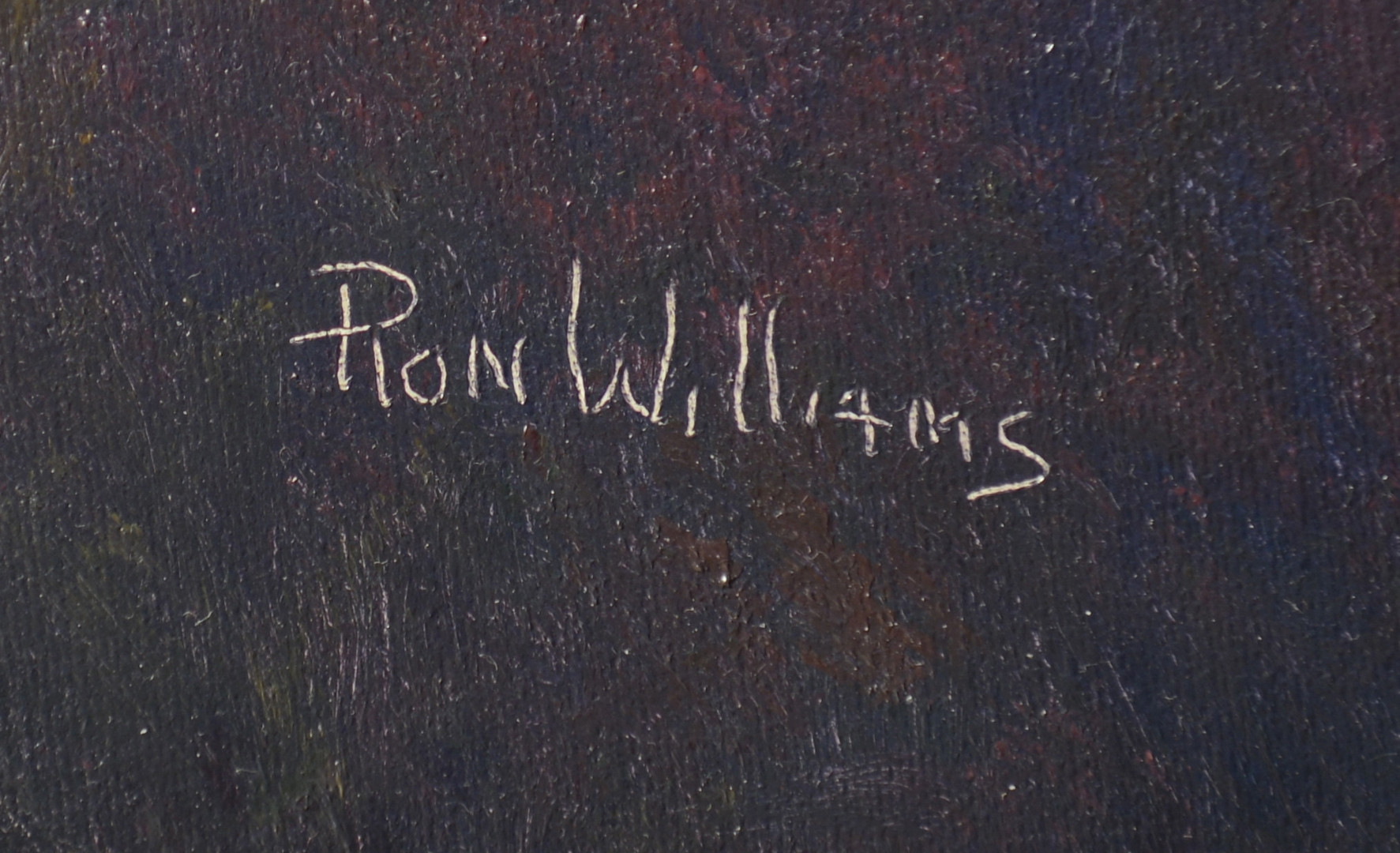 Lot 756: Ron Williams O/C Landscape