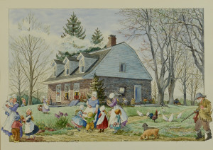 Lot 758: TN Artist Patricia Sprouls Watercolor