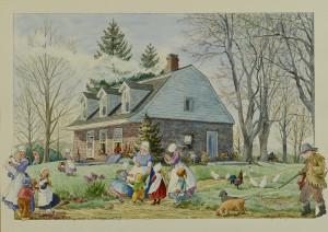 Lot 758: TN Artist Patricia Sprouls Watercolor