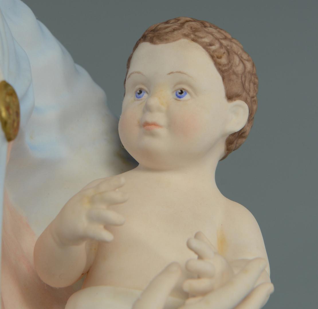 Lot 759: Boehm Porcelain Madonna w/ Child