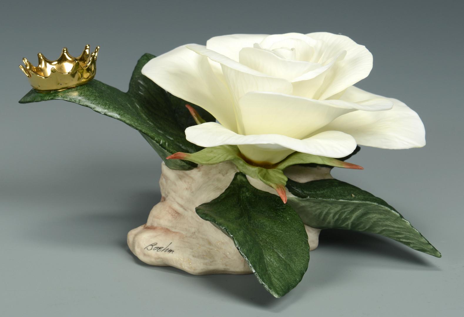 Lot 761: Boehm Princess Diana Rose