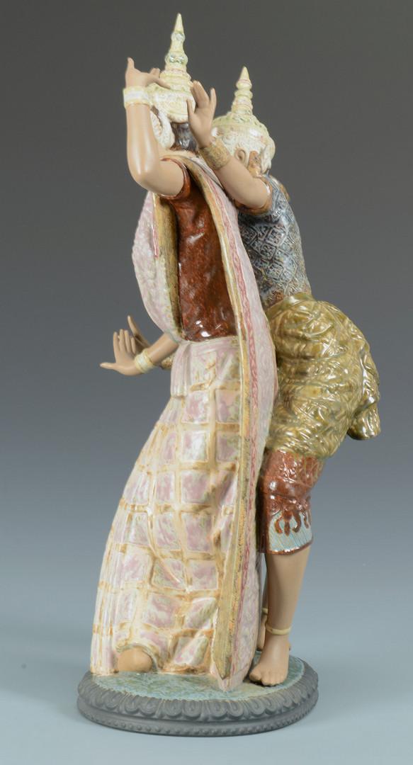 Lot 762: Lladro Balinese Dancing Figural