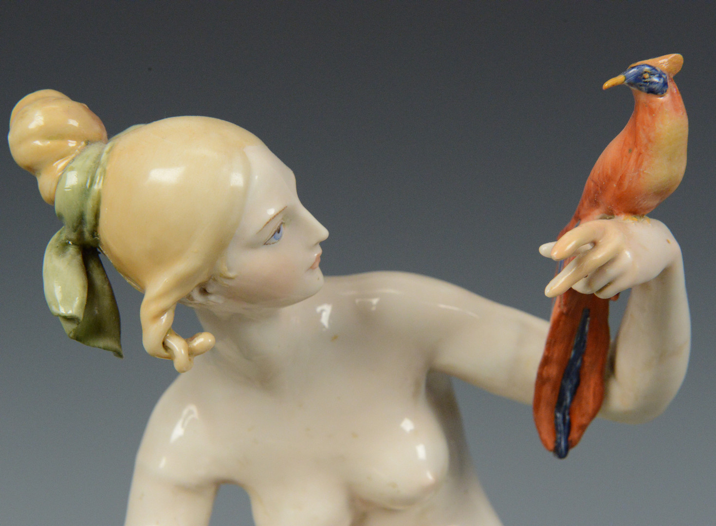Lot 765: 5 Porcelain Nudes, 4 Wallendorf