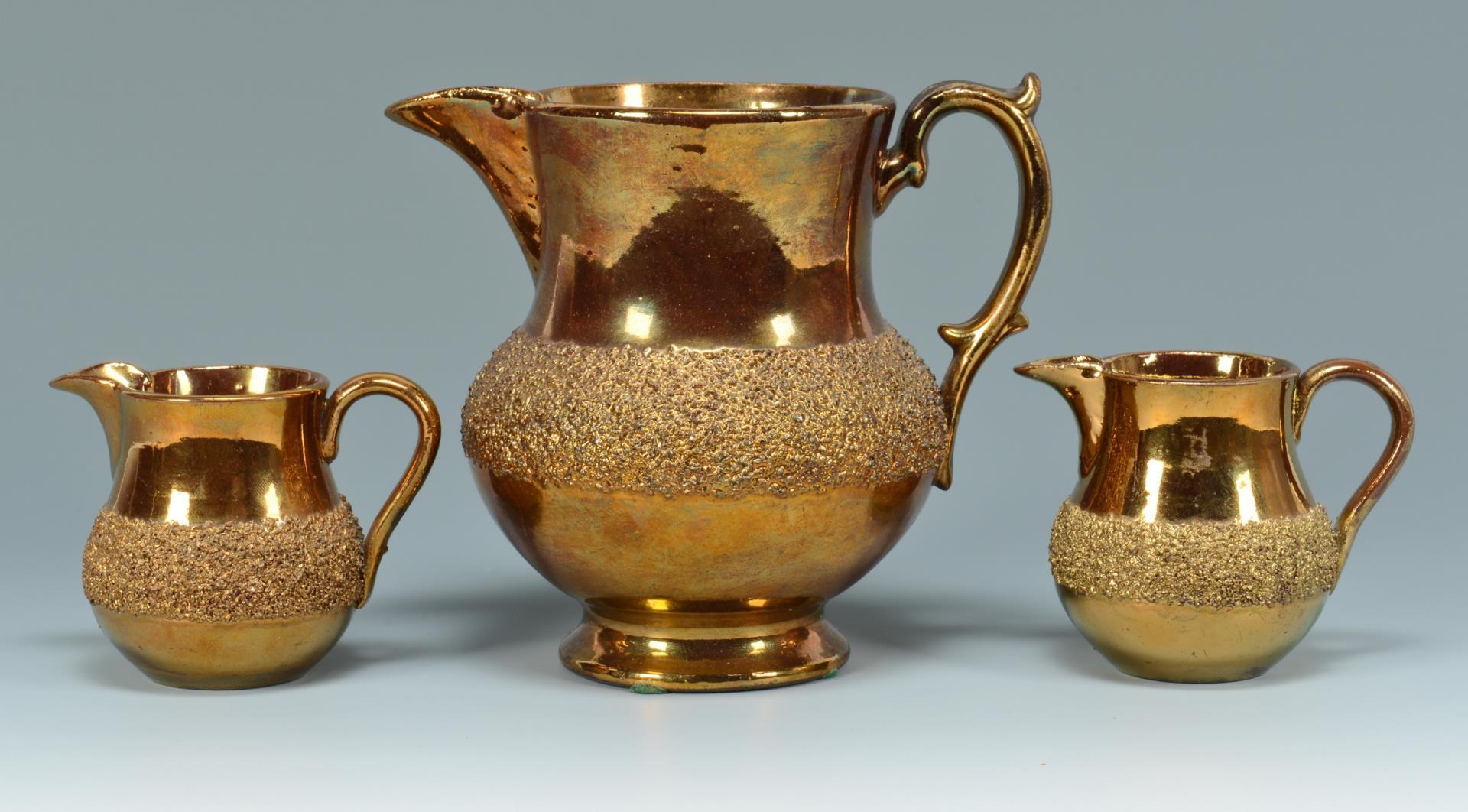 Lot 769: Group of Copper Lustreware, 12 pcs.