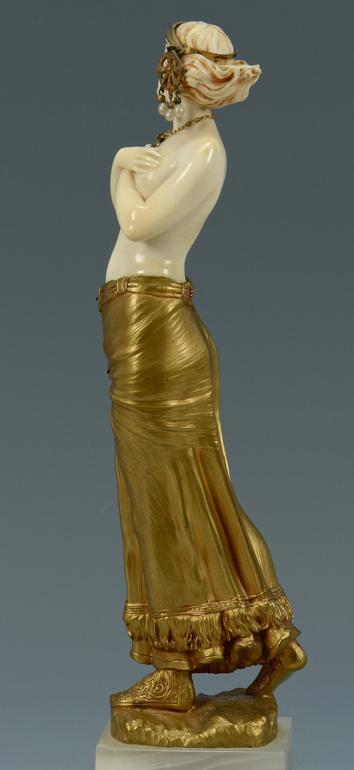 Lot 76: Eugene Barillot Nude Sculpture