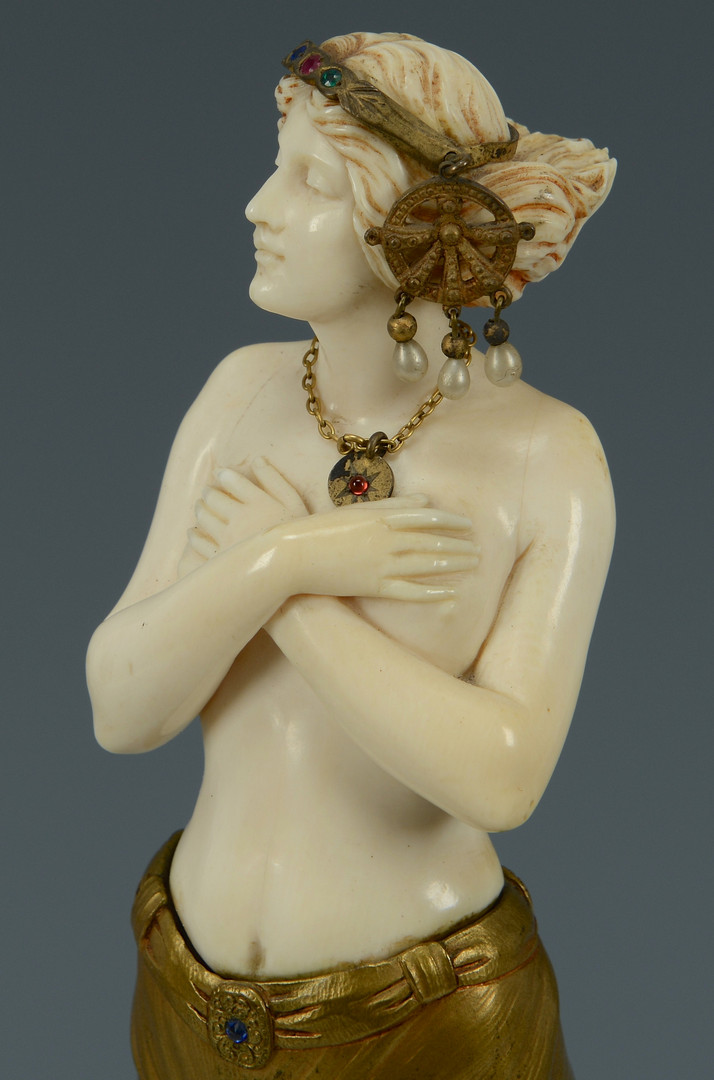 Lot 76: Eugene Barillot Nude Sculpture