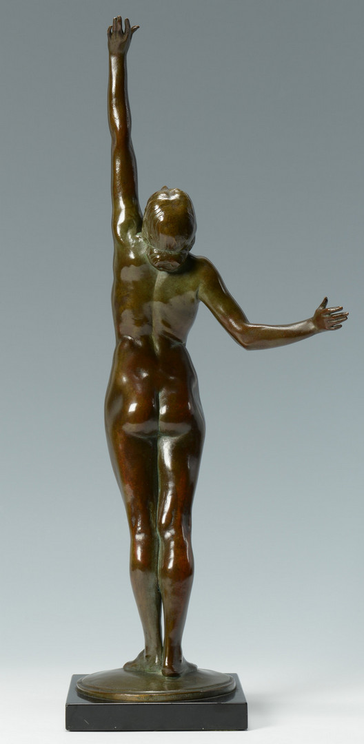 Lot 77: Harriet Frishmuth bronze sculpture, The Star