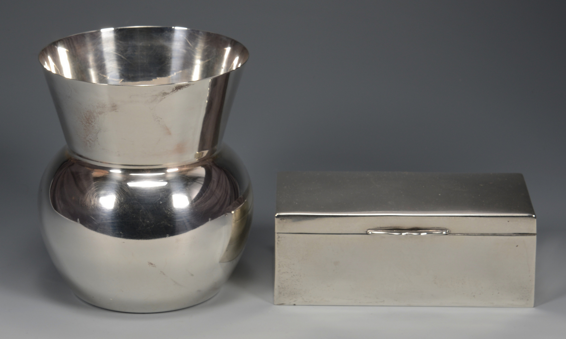 Lot 784: 5 Assd. Silver Serving Items