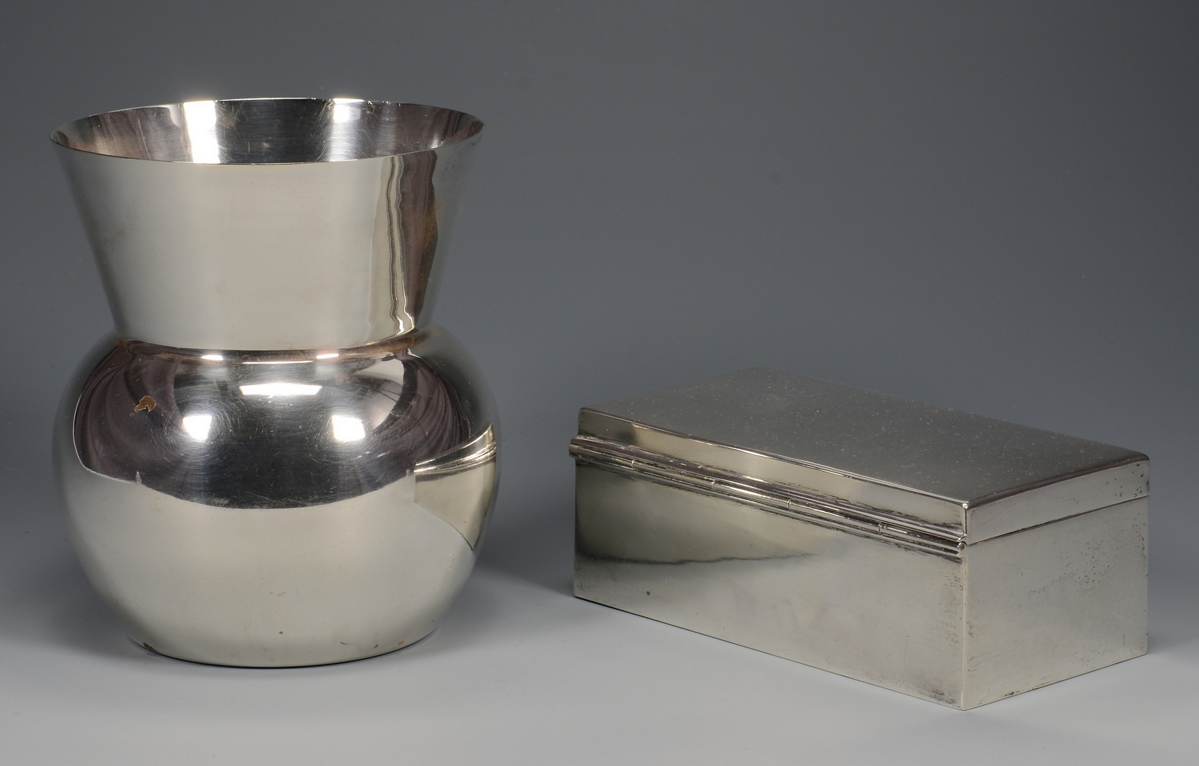 Lot 784: 5 Assd. Silver Serving Items