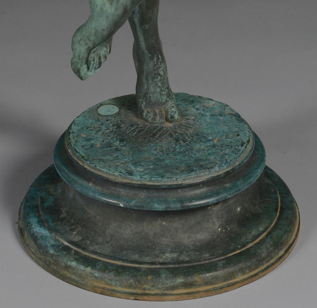 Lot 78: Frederick MacMonnies Bronze, Bacchantes