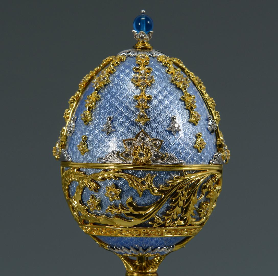 Lot 795 Franklin Mint Faberge Egg