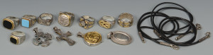 Lot 798: Group of Konstantino Men's Jewelry