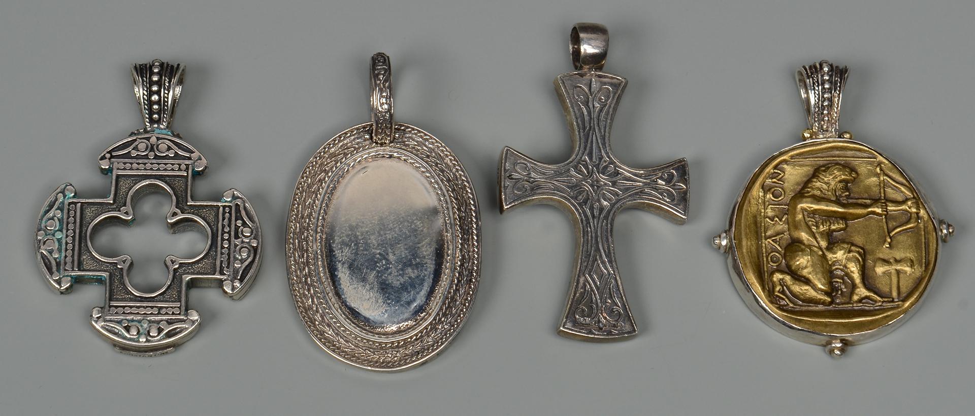 Lot 798: Group of Konstantino Men's Jewelry