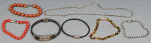 Lot 807: 7 David Yurman Jewelry Pcs.