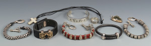 Lot 808: 9 Items King Baby Sterling Jewelry