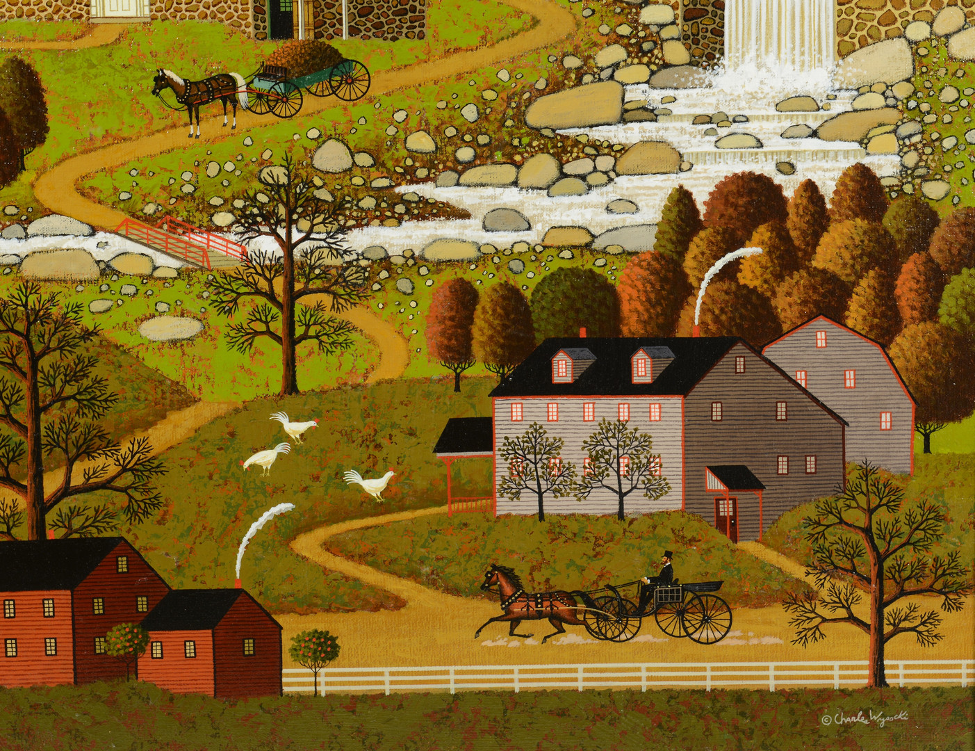 lot 81  charles wysocki o  c  windmill