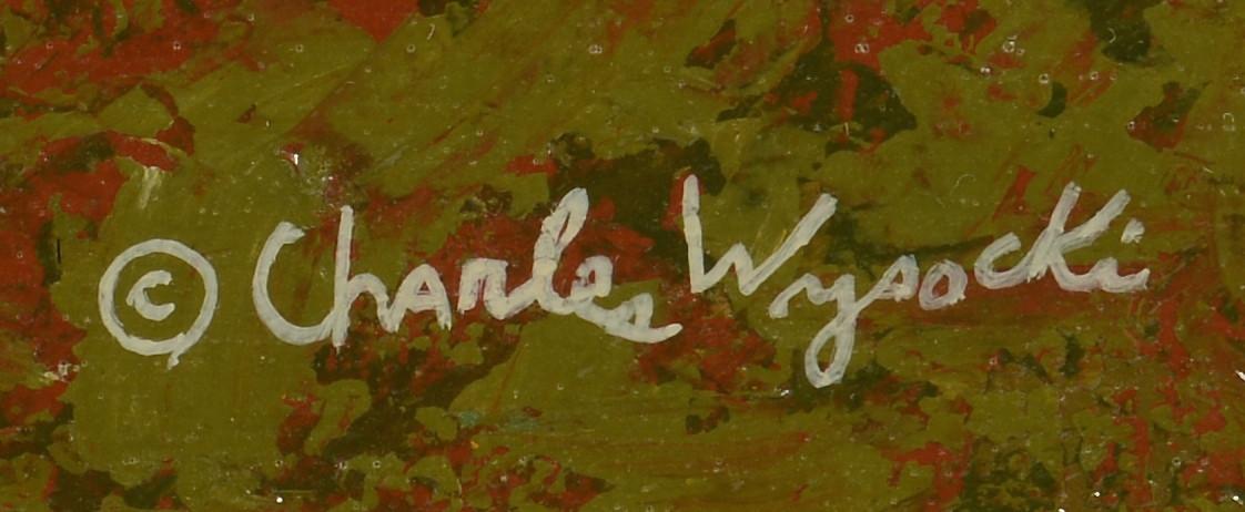 Lot 81: Charles Wysocki o/c, Windmill
