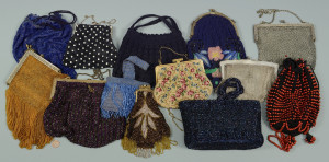 Lot 824: Grouping of 13 Ladies Vintage Purses