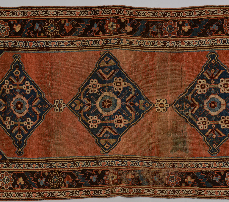 Lot 826: Kurd Byar Rug, 10.5 x 4.9