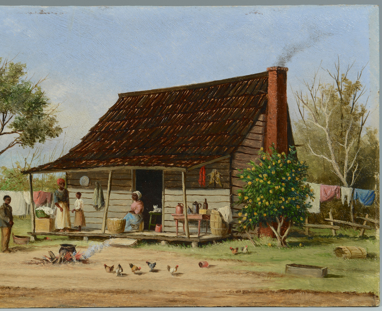 Lot 82: William A. Walker Oil on Board