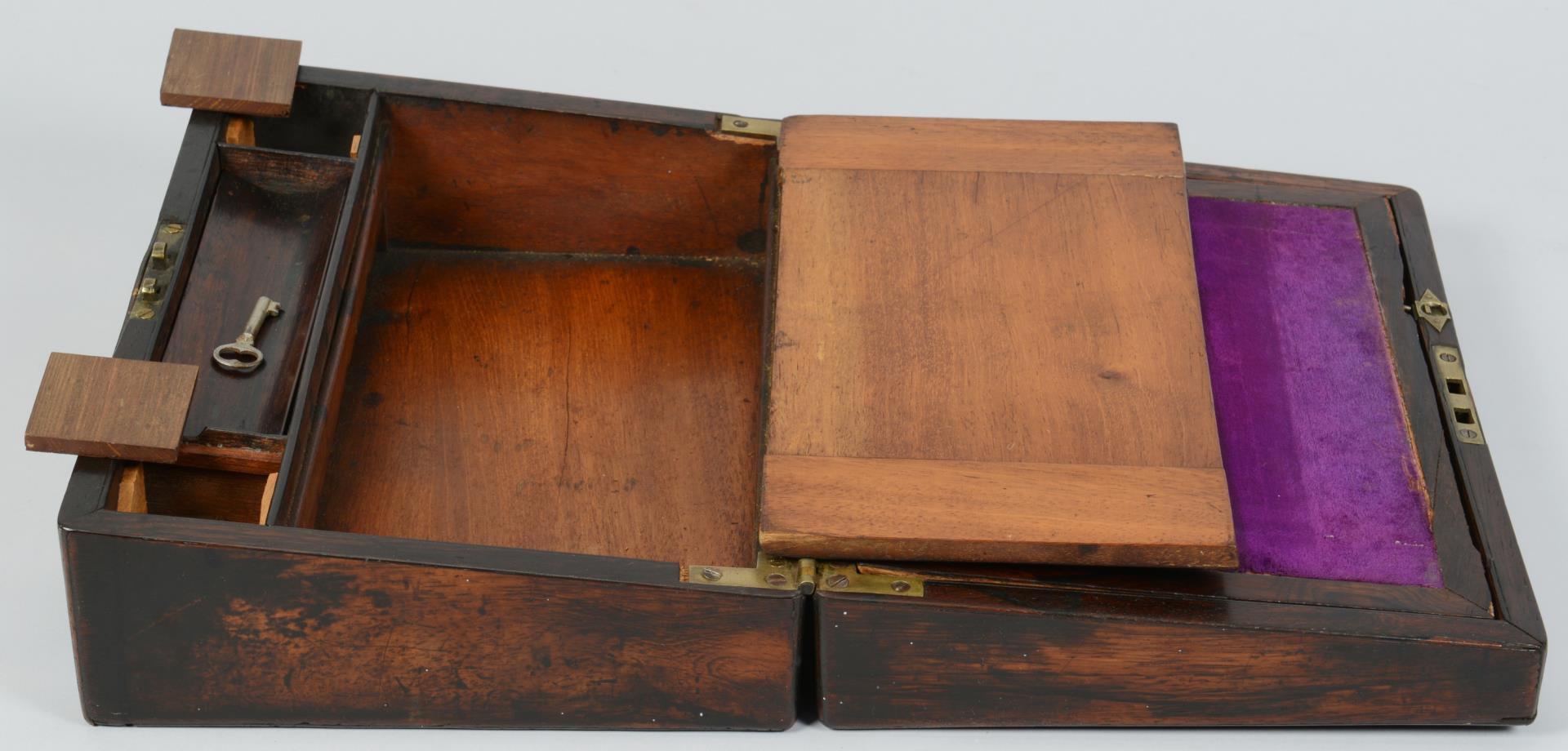 Lot 835: Lap Desk & 10 Assd. small items