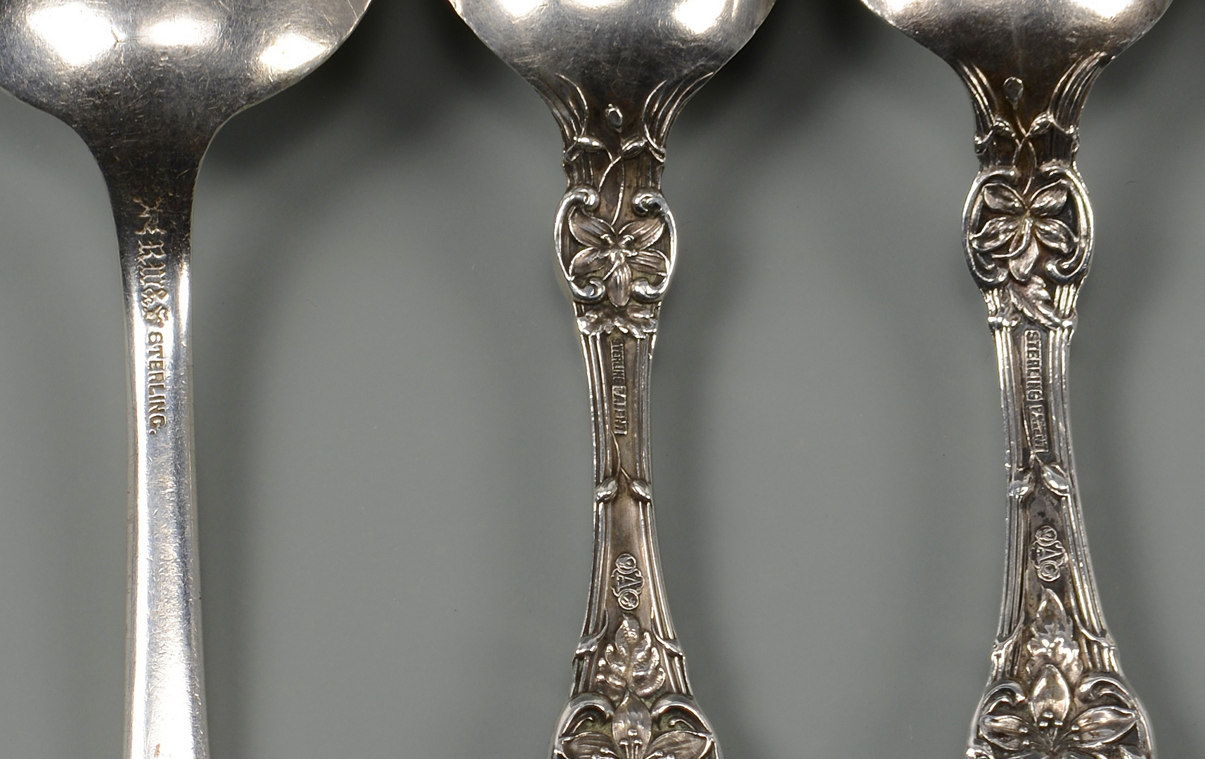 Lot 840: Group of Sterling Flatware Items, 14 pcs.