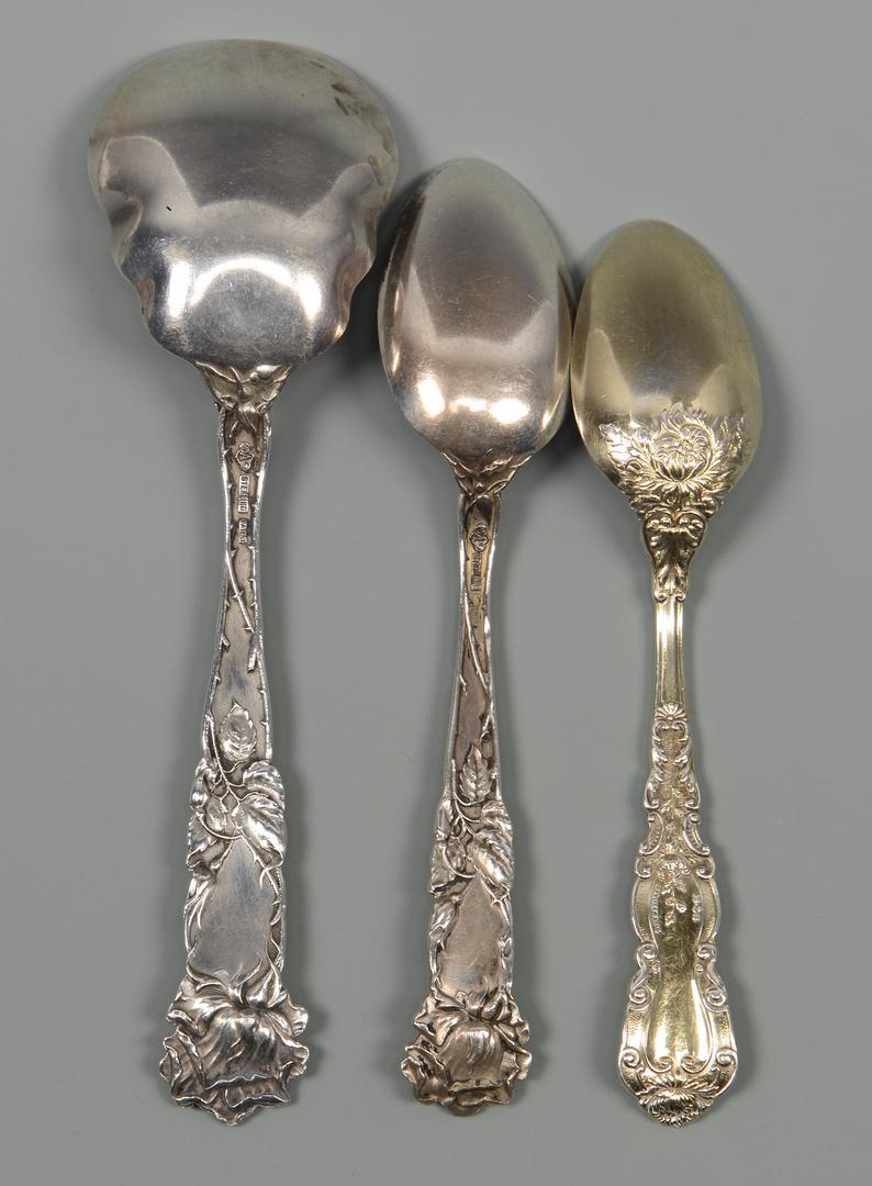 Lot 841: Gorham/Alvin 5 O'Clock Spoons, 25 pcs