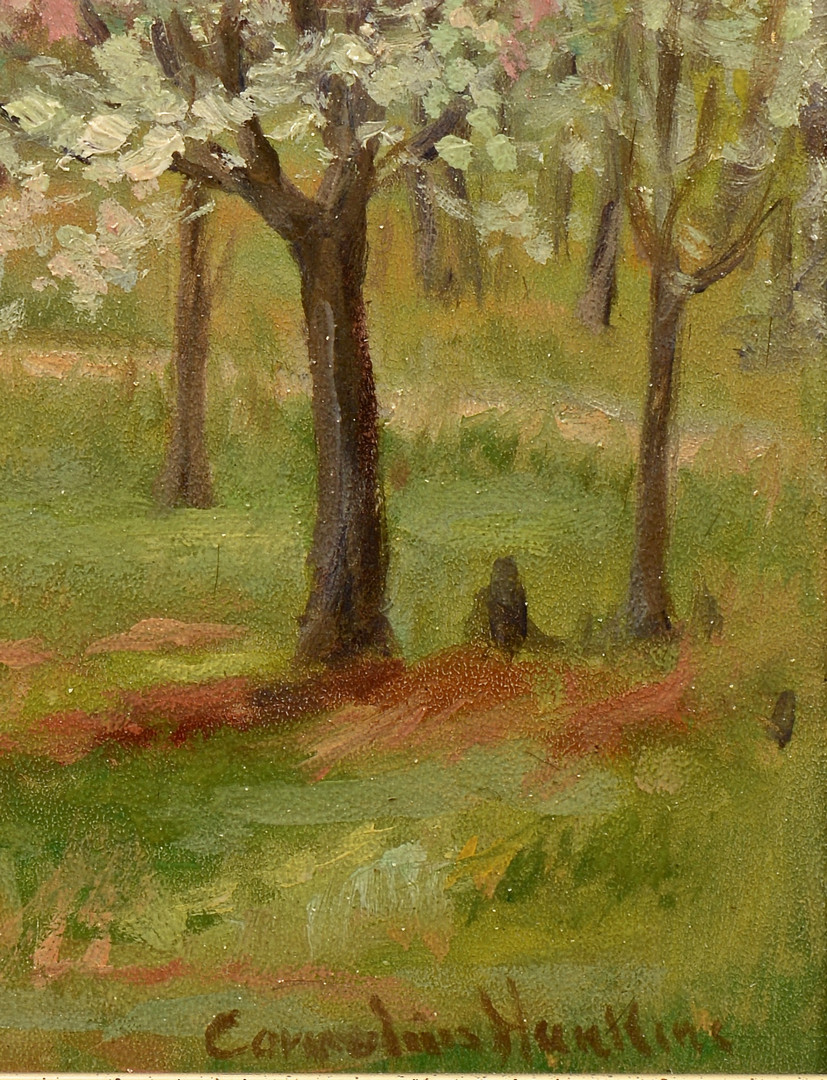 Lot 87: Cornelius Hankins O/B, Spring Landscape