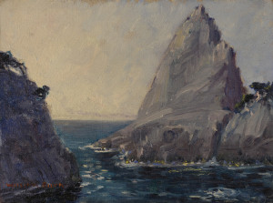 Lot 88: William Posey Silva seascape