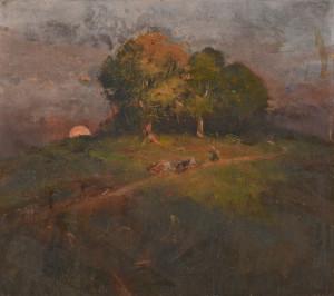 Lot 90: Lloyd Branson O/B Landscape