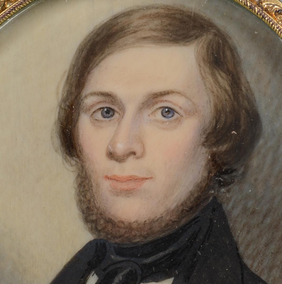 Lot 93: Southern Miniature Portrait of a Gentleman